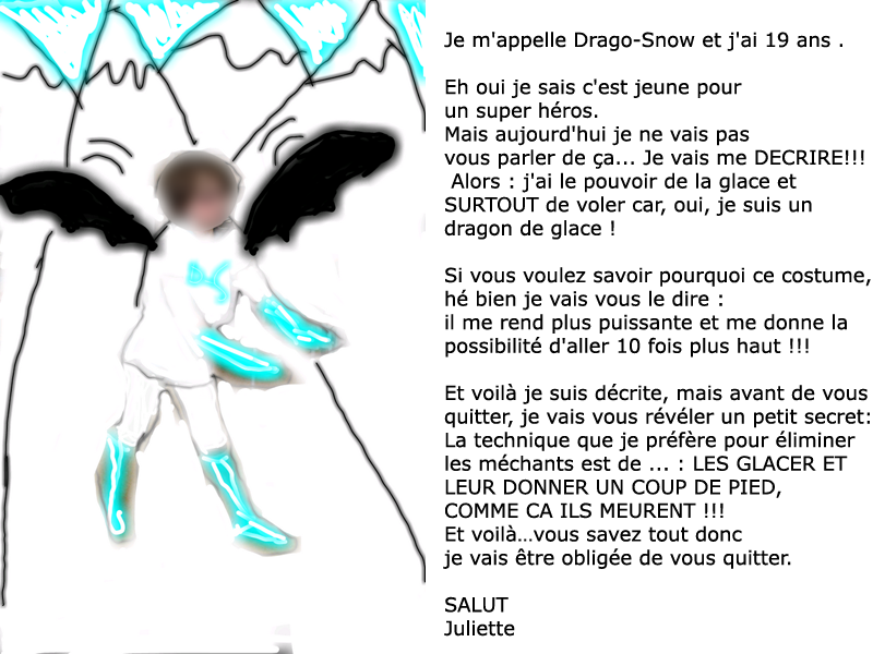 description d un personnage imaginaire